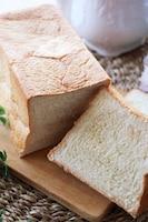 そのままで美味しい♡ふんわりとろける食感の豆乳生食パン
