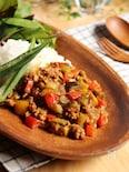 夏野菜たっぷり!簡単キーマカレー
