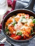 夏野菜のカラフルチーズタッカルビ【#下味冷凍 #焼肉のたれ】