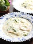 ヘルシー♪白菜と油揚げのクリーム煮♡