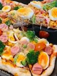 〜子どもとワイワイ〜ホットプレートで作るカリふわ極旨ピザ