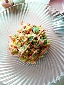 アボカド入りのタラモサラダ