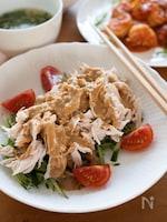 基本の棒棒鶏(バンバンジー)【ごまだれ・茹で鶏の作り方】