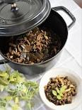 ゴーヤと牛肉の佃煮風実山椒煮