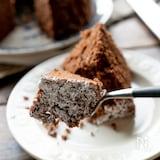 レンジで作るふんわりチョコケーキ