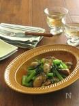 簡単おつまみ♪牡蠣と小松菜のガーリックバター醤油ソテー