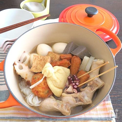 創味シャンタン☆おでん鍋