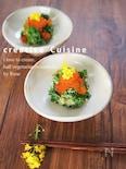 絶品前菜★菜の花のアボガド山葵和え