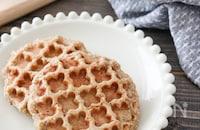 【材料3つ】オートミールワッフル♪朝食・子どものおやつに!