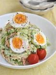キャベツと卵のデリ風サラダ