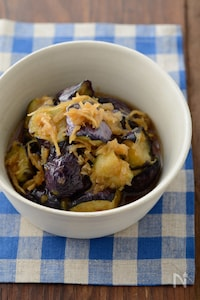 【定番和食】たっぷり生姜でなすの揚げ煮