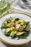 食べやすい!春菊とリンゴの爽やかサラダ♪