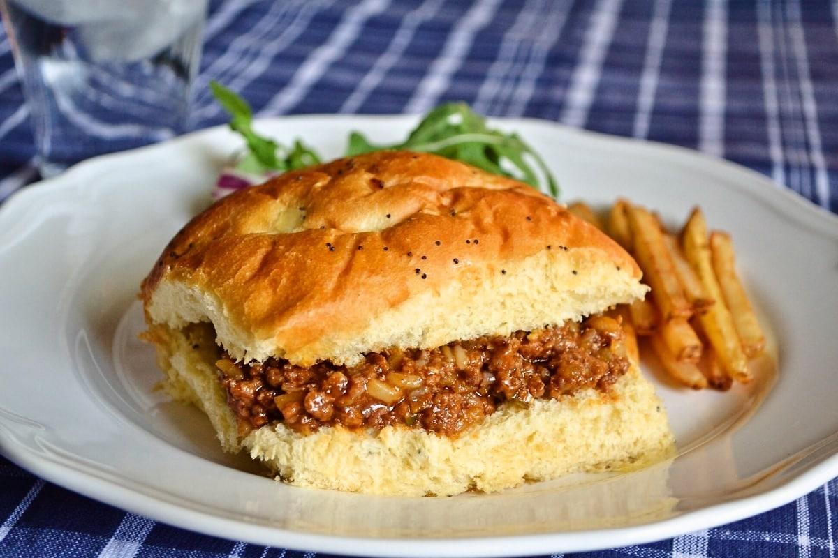 スロッピージョー アメリカの家庭料理 ハンバーガーより美味!