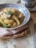 カップスープで鶏とブロッコリーのワンポットパスタ
