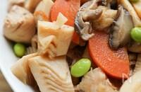 やっぱり美味しい♡『筑前煮風♪鶏と彩り野菜の煮物』