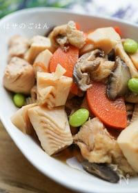 『やっぱり美味しい♡『筑前煮風♪鶏と彩り野菜の煮物』』
