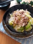 レンチン・味付け一つで絶品♡豚ばらとキャベツの中華レンジ蒸し