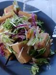 さっぱり美味しい‼️高野豆腐の南蛮サラダ