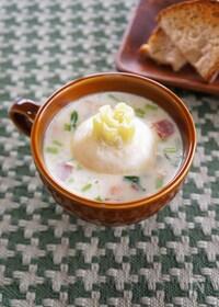 『丸ごとかぶのミルクスープ』