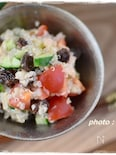 レーズン×キヌアで栄養満点サラダ