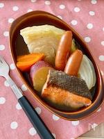 秋鮭とさつま芋の秋薫る北海ポトフ