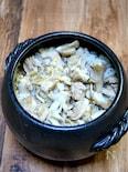 まん丸ご飯鍋で鳥釜飯
