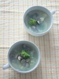 しじみと菜の花のスープ