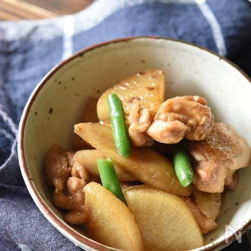 鶏ごぼうと大根のこってり煮【冷凍・作り置き】