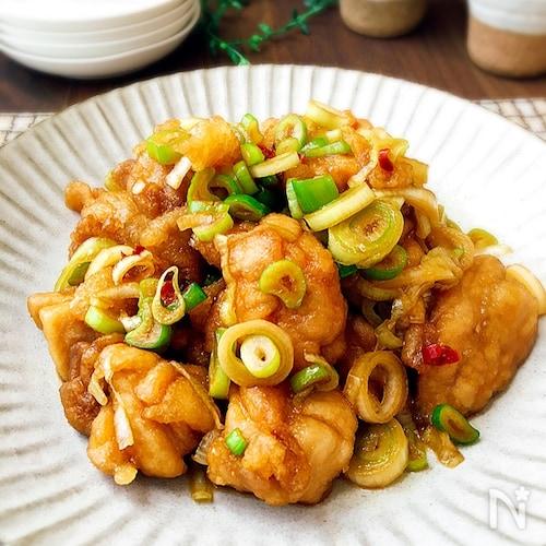 ご飯のおかずの作り置き☆下味なしの鶏もも肉の南蛮漬け