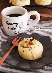 『朝食やおやつに♡鍋とHMで作るさつまいもの蒸しパン♡』