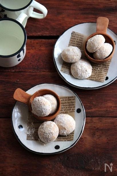 魅惑の口どけ♪スノーボールクッキーの人気レシピ12選