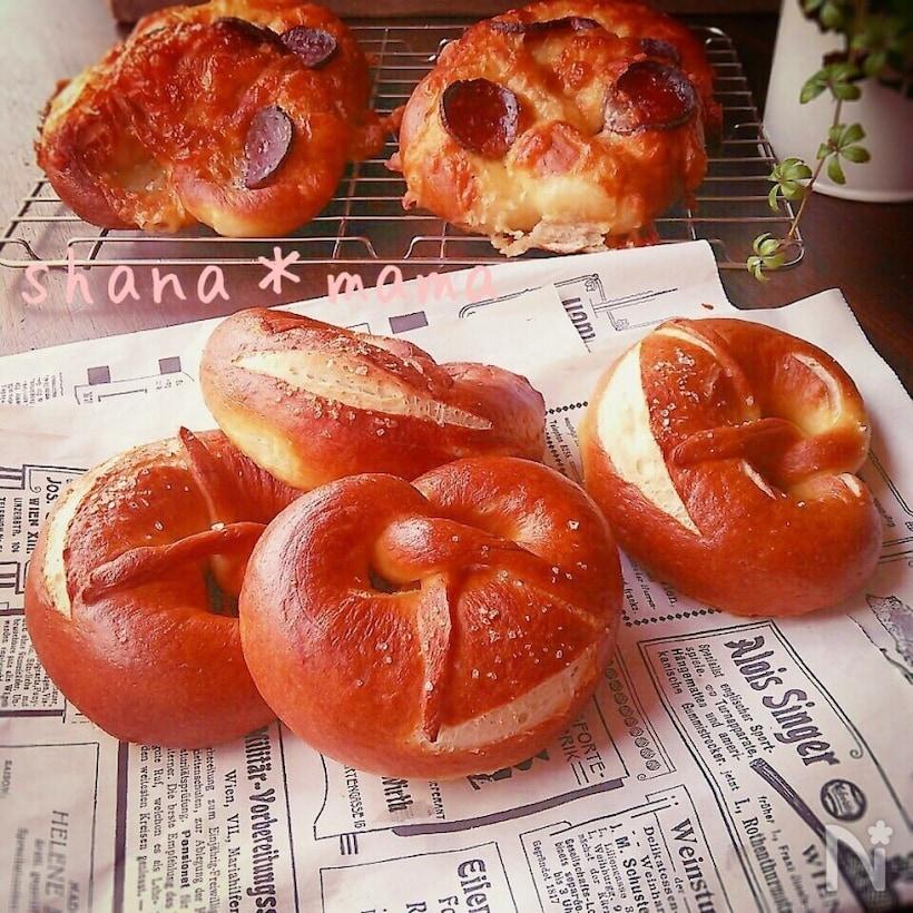 ドイツの菓子パン「プレッツェル」とは?レシピを徹底解説の画像