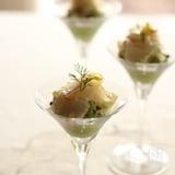 クリスマスに!鯛の柚子セヴィッチェとワカモレ