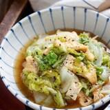 白菜と油揚げのコクうま♡とろみ中華蒸し【#とろみづけ不要】