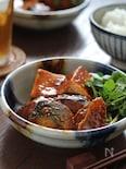 鯖のコチュジャン味噌煮