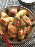 時短煮物!鶏肉とじゃがいものみそ煮