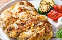 サクッと美味しい!『鶏むねチーズパン粉焼き』
