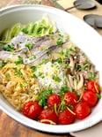 ホットプレートで簡単に☆旨味たっぷり真鱈の蒸し煮