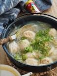 からだぽかぽか。ふわふわ鶏団子のしょうが春雨スープ【ヘルシー