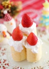 『キャンドル風ケーキ』