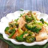 ブロッコリーと豆腐のマヨチャンプルー
