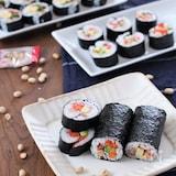 お刺身3種盛りでできる!コツのいらないちらし巻き寿司