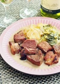 『塩豚と白菜のコトコト煮』