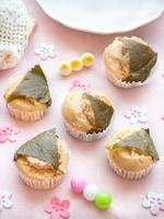 【簡単おやつ】フライパンで簡単!桜餅風蒸しパン