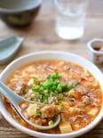 簡単辛うま♩お肉がゴロゴロ麻婆豆腐