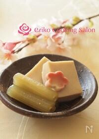 『ふきと高野豆腐の煮物』