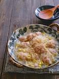 豚団子と豆もやしと春雨の旨塩煮