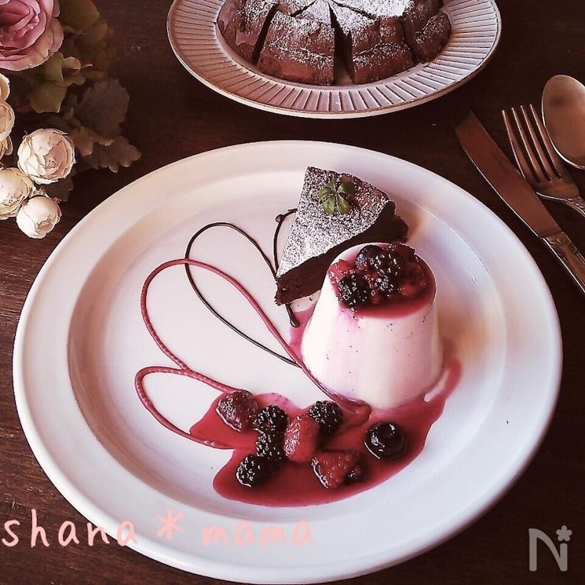 プリン チョコレート