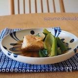 カジキと小松菜のしょうがたっぷり炒め煮