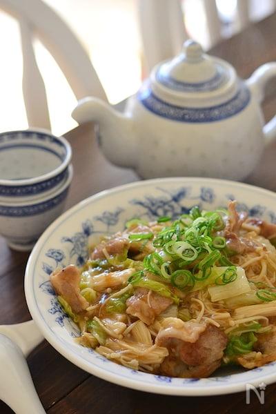 豚バラ白菜のあんかけベジ丼 By 鈴木美鈴 Nadia ナディア
